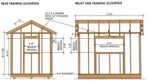 Plans To Build A Wooden Shed by Enjoyable Ideas Building Plans For Wooden Sheds 11 Build A Shed