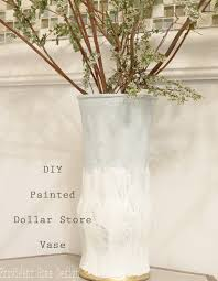 Diy Vase Decor Easy Diy Painted 1 Glass Vase Provident Home Design