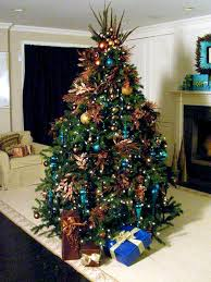 Blue Christmas Tree Decorations Ideas by Christmas Tree Decorating Ideas Violamazing