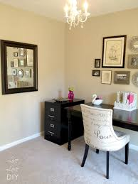 Home Office Decorating Ideas On A Budget Livelovediy How To Spray Paint A File Cabinet And The Occasional