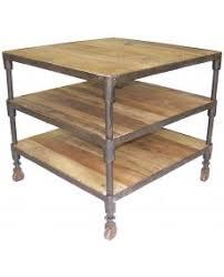 bout de canapé bois bout de canapé table d appoint bois recyclé industriel pieds roulettes