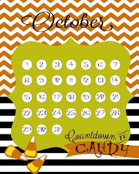 free countdown calendar printables