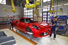 factory in italy alfa romeo 4c factory seeing how the sports car is