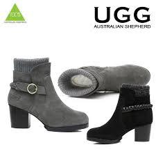 australian shepherd ebay ugg boots sheepskin high heel wool insole australian ladies grey