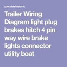 7 pin trailer plug wiring diagram diagram pinterest plugs