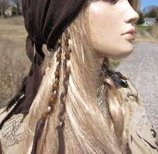 boho hair wraps american boho hair jewelry ponytail holders leather hair