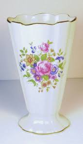 Lennox Vases Lenox Fine China Roses Vase With 24kt Gold Accents From Judysgems