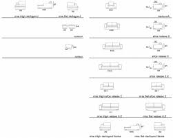 Standard Sofa Size by Sofas Center Dimensions Of Sofa Table Coffee Standard Lucnex
