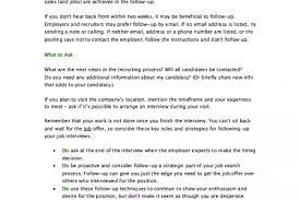 Sample Follow Up Letter After Submitting A Resume by Resume Follow Up Letter Reentrycorps