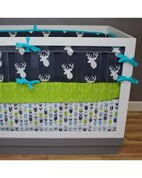 deal alert woodland nursery bedding boy crib bedding deer