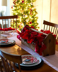 dining room table setting ideas red u0026 white christmas in the dining room it all started with paint