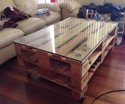 How To Make A Coffee Table by How To Build A Coffee Table Out Of Pallets