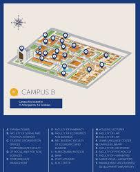 isi layout peta peta kampus