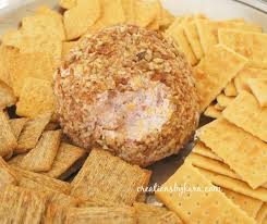thanksgiving cheese ball ranch and ham cheese ball