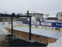 Backyard Hockey Rink by Backyards Beautiful Backyard Rinks Backyard Rinks Ottawa