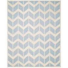 Grey And Turquoise Rug 8 X 10 Chevron Area Rugs Rugs The Home Depot