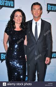 jenny pulos jeff lewis at a public appearance for bravo media u0027s