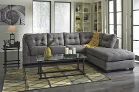 Denim Sectional Sofa 2 Piece Sectional With Right Chaise By Benchcraft Wolf And