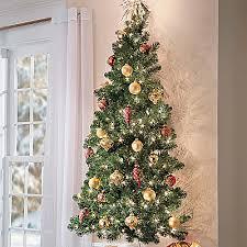 5 ft wall mounted tree prelit hang on door or wall