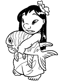 32 lilo stitch coloring pages images lilo