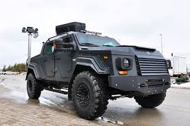 tactical truck gurkha by terradyne armored vehicles on patrol at bruce power