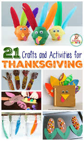 21 of the best thanksgiving crafts and activities for