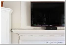 Decorative Flat Screen Tv Covers How To Hide The Cords On A Flat Screen Tv In My Own Style