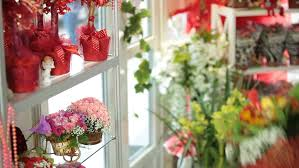 Flower Shop Interior Pictures Flower Shop Interior With Floral Arrangements And Bouquets Stock