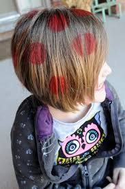 polka dot hair 13 best hair images on hairstyles