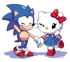Hello Kitty Meme - sonic and hello kitty crossover know your meme