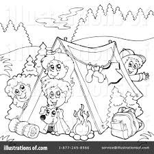 camping clipart 231685 illustration visekart