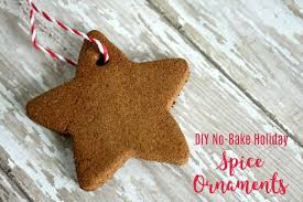 diy spice ornament craft for fall and christmas decorating