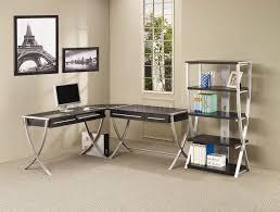 Modern Desk Table by Furniture Unusual Dark Brown Teak Modern Home Office Desks With 3