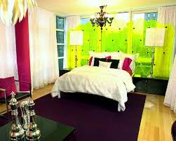 Green Curtains For Bedroom Ideas Bedroom Dazzling Relaxing Nuance Of Lime Green And Purple
