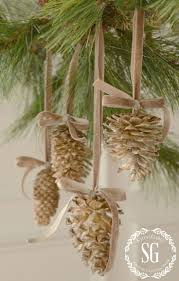 best 25 christmas decorations pinecones ideas on pinterest pine