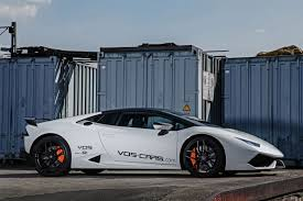 lamborghini modified 2015 vos lamborghini huracan supercars cars white tuning modified