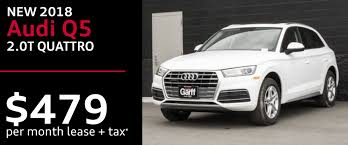 audi special lease audi lehi audi q5 suv special offers incentives