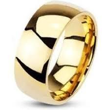 alliances de mariage bague anneau alliance mariage fiancaille homme femme plaque or 8mm