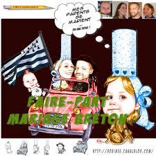 dessin humoristique mariage faire part mariage breton 2ch bigouden humour caricatures