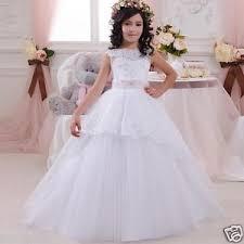 communion dresses for 2018 white gown flower girl dresses kids communion dress