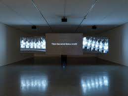 hannah black on the meaning of life the war on analogy for her hannah black beginning end none 2017 installation view photo by klaus pichler courtesy the artists mumok vienna