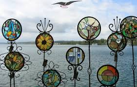 stained glass garden creative glass ideas mosaics