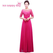 fuschia bridesmaid dress shop 2017 modern black pink fuschia bridesmaid chiffon