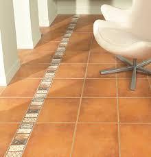 chic terracotta laminate flooring tile effect alcora arena floor
