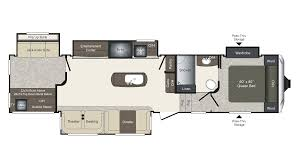 Keystone Floor Plans by 2018 Keystone Laredo 357bh Model
