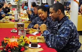 file us navy 101125 n 1756r 009 thanksgiving dinner aboard uss