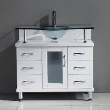 36 bathroom cabinet virtu usa ms 36 g wh vincente 36 bathroom vanity with sink