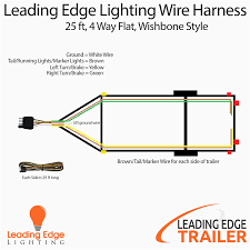 4 way round trailer wiring diagram 7 pin plug remarkable wire