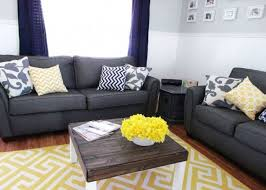 Curtains For Yellow Living Room Decor Living Room Stunning Grey And Yellow Living Room Decor Grey And