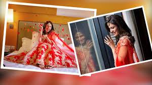 kishwer merchantt u0027s red wedding dress pre wedding